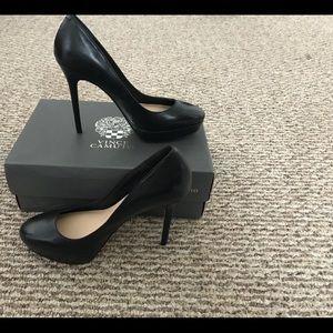 Vince Camuto Black Platform Stilettos
